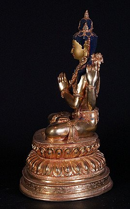 Copper Chengresi statue