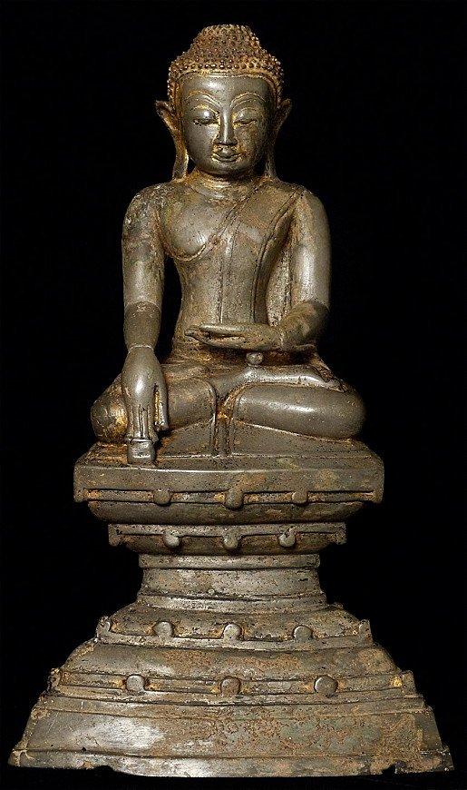18. Jh Birmanischer Buddha Figur