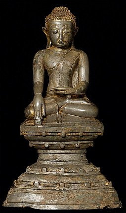 18th century Burmese Buddha statue