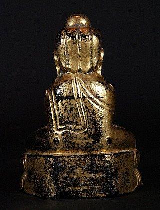 Antique Lotus Buddha statue
