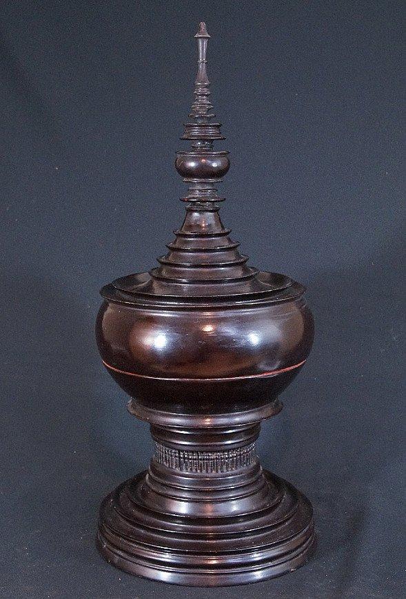 Antieke Birmese offerschaal