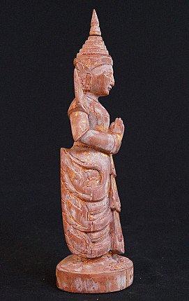 Antique Burmese Nat - Tajamin