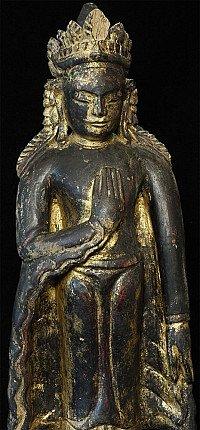Antique Post Pagan Buddha
