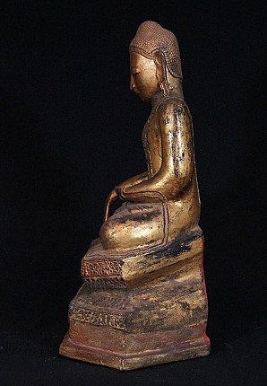 Antique lacquer Buddha