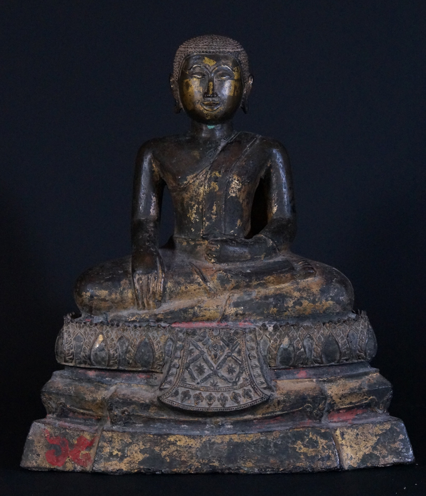 Antique Thai Monk statue from Thailand