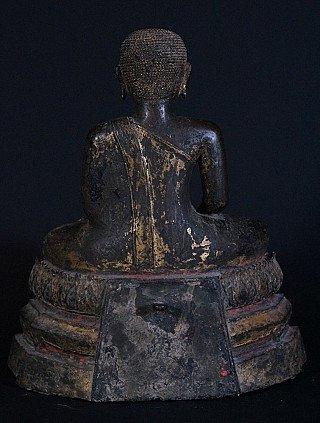 Antique Thai Monk statue