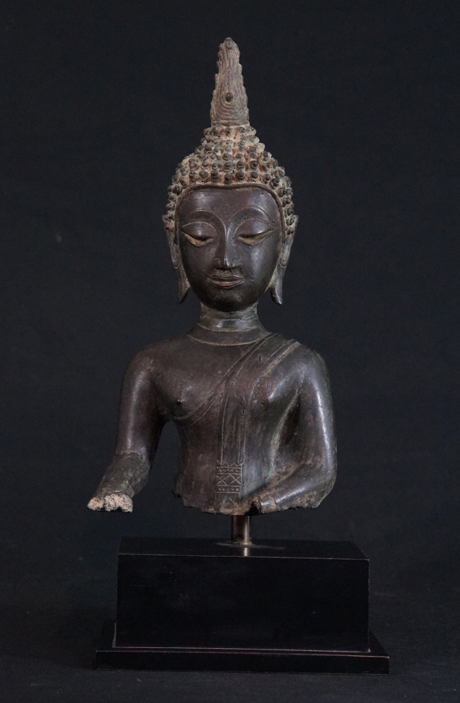 buddha head statue meaning antique thai buddha statue from thailand made from 10501