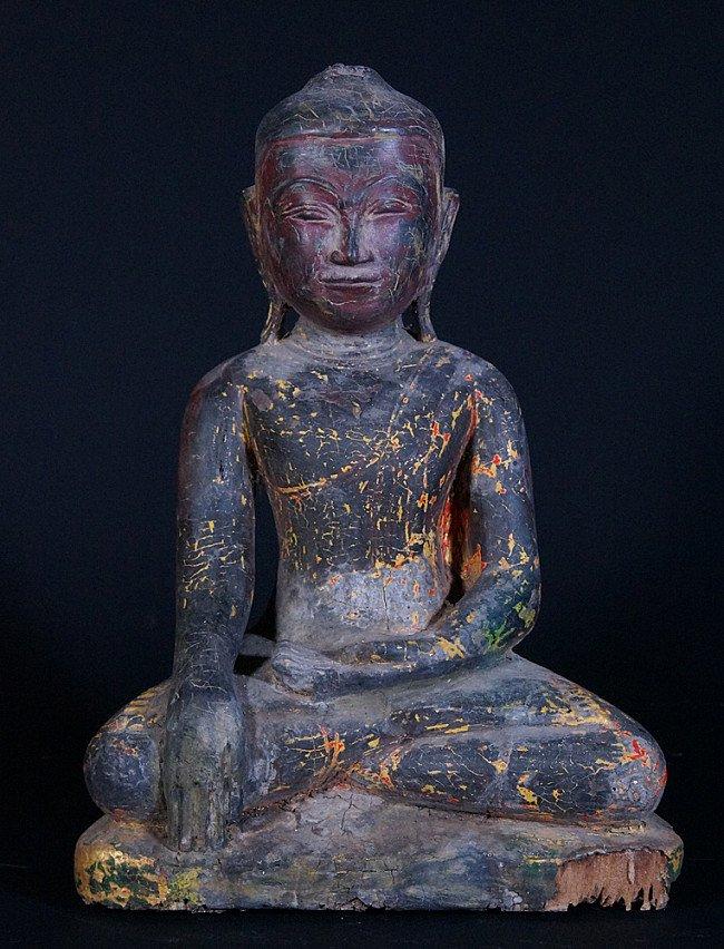 17th century Burmese Buddha statue