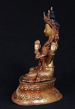 Copper Chengresi statue