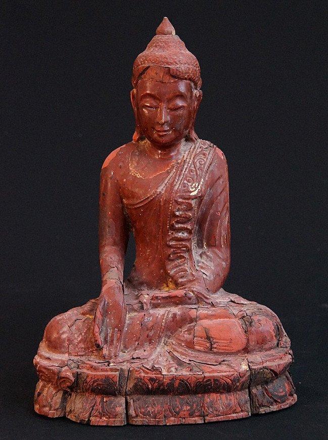 Antieke zittende Boeddha