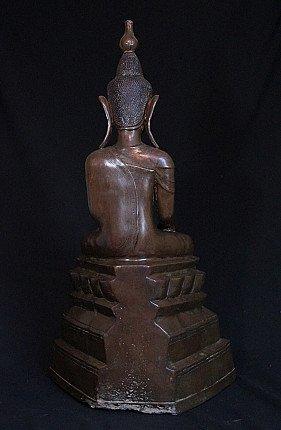 Large antique Shan Buddha statue