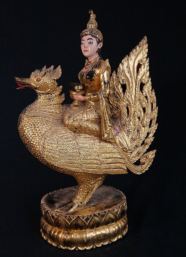 Antique Burmese Goddess
