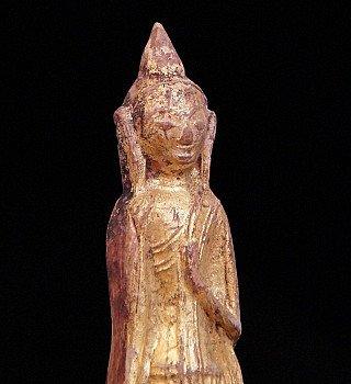 Antiek Boeddha Amulet
