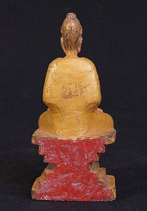 Antique Mon Buddha statue