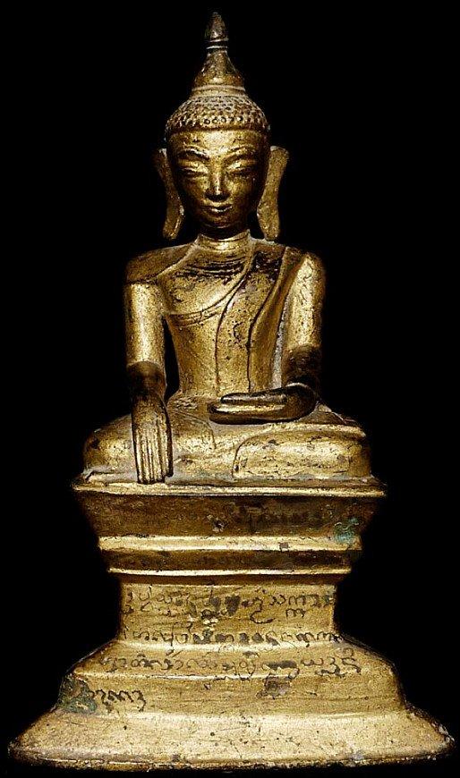 17-18th century bronze Shan Buddha