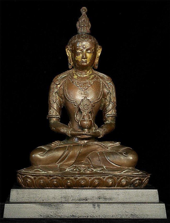 17e eeuwse Nepalese Amitayus Boeddha
