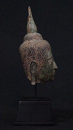 Antique Ayuthaya Buddha head