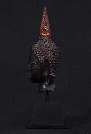 14-15. Jh. Thai Buddha Kopf