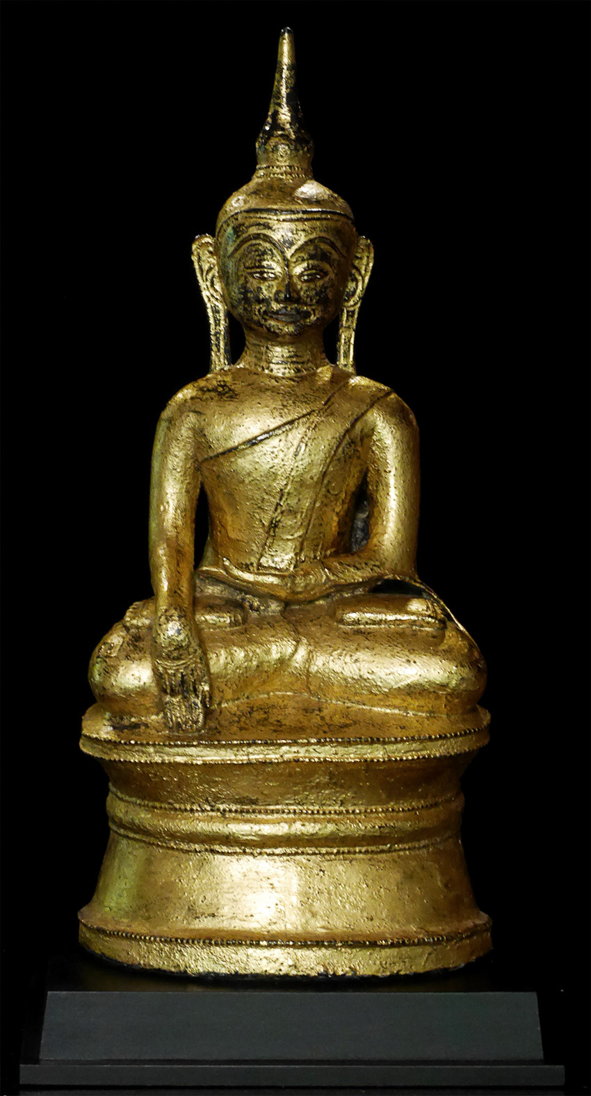 Antique Mon Buddha statue from Burma