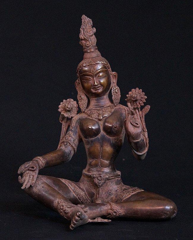 Bronze Tara statue
