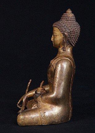 Old Medicine Buddha statue