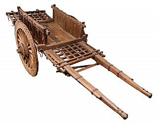 Antique Chinese handcart