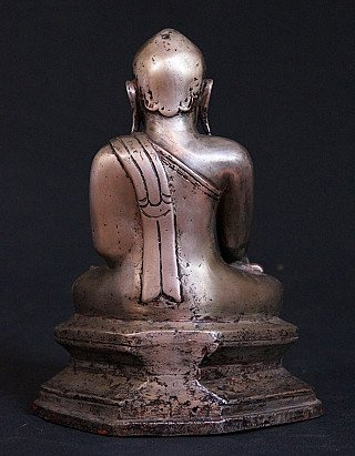 Antique Lotus Buddha statue