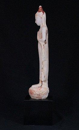 Antique alabaster Buddha statue