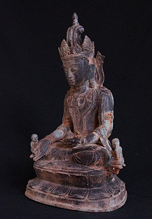 19e eeuwse Arakan Boeddha