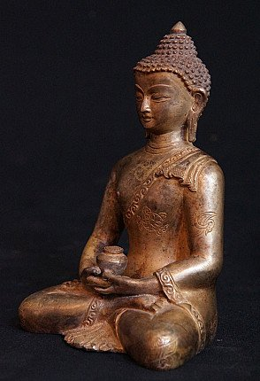 Old Nepali Buddha statue