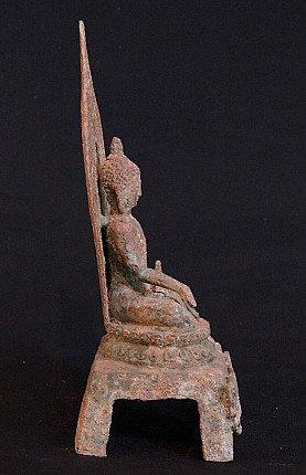 Old Chinese Buddha statue