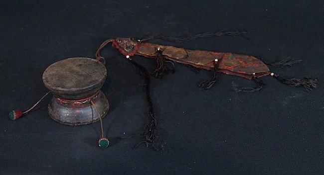 Antique Damaru Drum