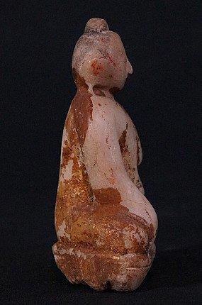 Antique marble Buddha statue