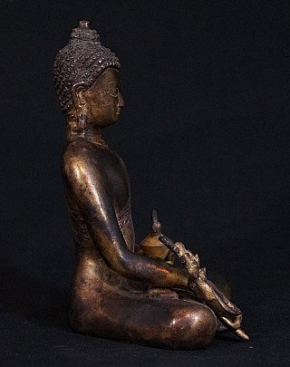 Bronze Medicine Buddha