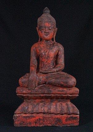 Antiek Ava Boeddhabeeld