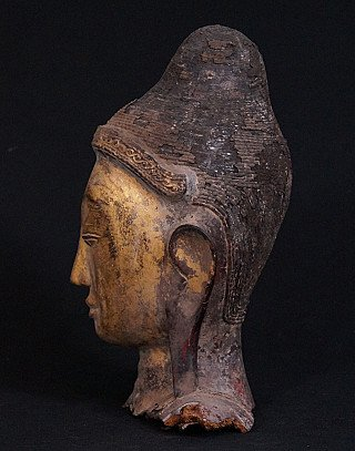 Antiek Boeddhahoofd