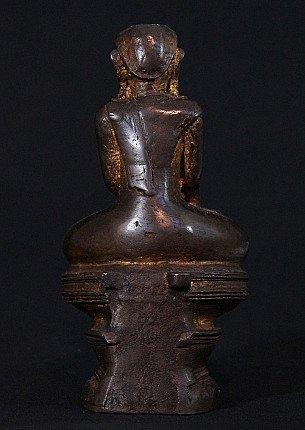 Antiek Birmees Mon Boeddhabeeld