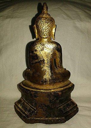 16th century bronze Buddha