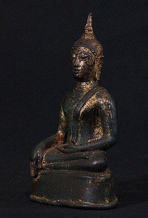 High quality bronze Sukhothai Buddha statue