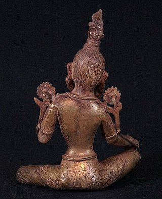 Bronze Green Tara