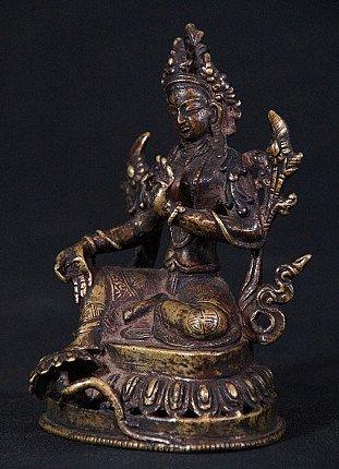 Antique Nepali Green Tara