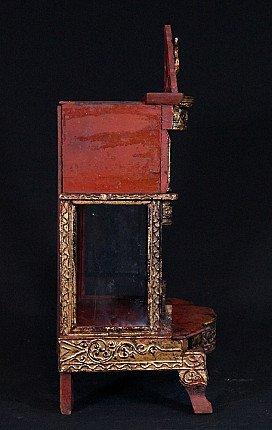 Antique home shrine