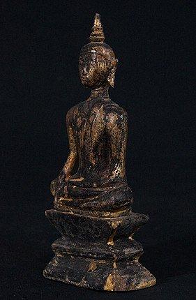 Antique Laos Buddha statue