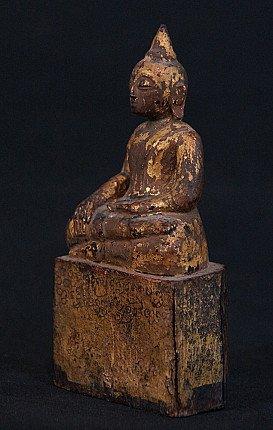 Antique Thai Buddha statue