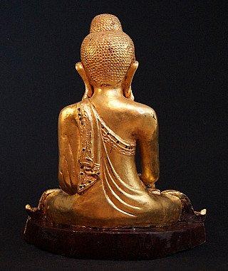 Old Burmese Mandalay Buddha