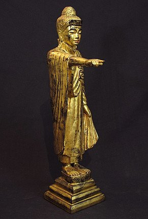 Antique standing Buddha