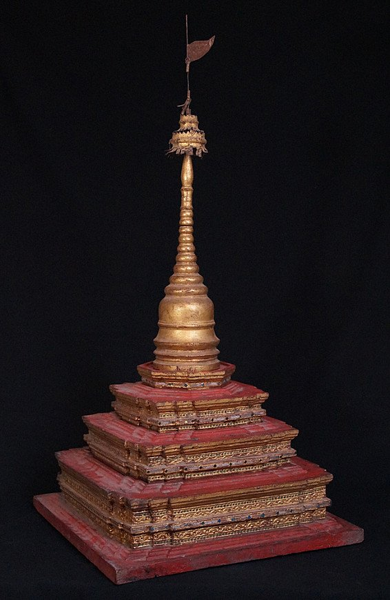 Antique Burmese Pagoda
