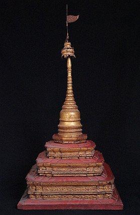 Antiker Birmanischer Pagoda