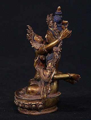 Old Nepali Yab-Yum statue
