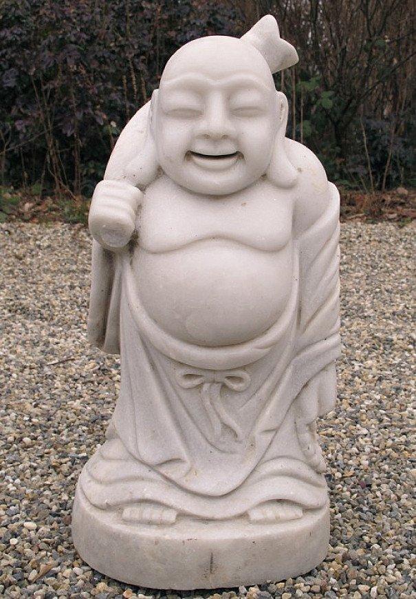 Marble Happy Buddha